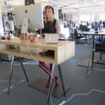 Standingdesk-at-work